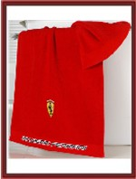 Ferrari Logo Hand Towel - Red