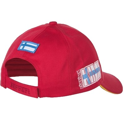 Kids Ferrari Hat - Back View