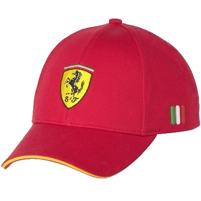 Kids Ferrari Hat - Front View