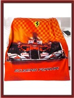 Ferrari Fleece Blanket - F1 Car