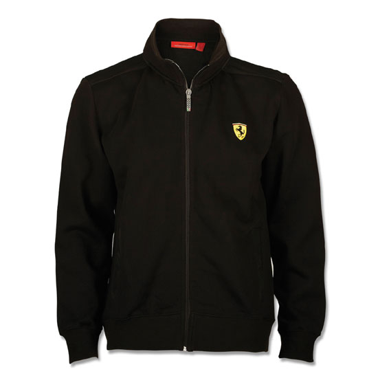 Ferrari Black Softshell Jacket - Detailed Photos