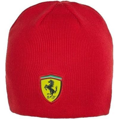 32b7922063c Ferrari Classic Scudetto Knitted Beanie - Detailed Photos