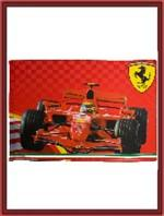 Ferrari F1 Car Flag - Large