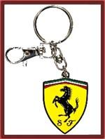 Ferrari Metal Shield Key-Chain (FP8933)