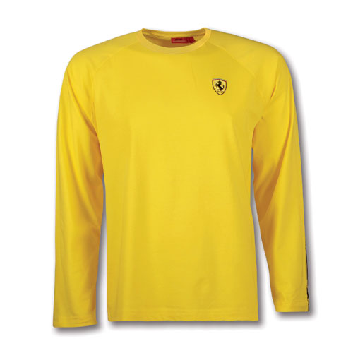 Yellow Long Sleeve T Shirt Is Shirt