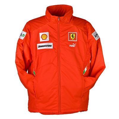 Puma Ferrari F1 Team Jacket - Red (FR8418)