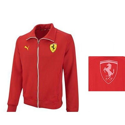 red puma jacket