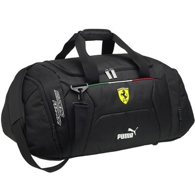 912b0113f3 Black Puma Ferrari Travel Bag - Detailed Photos