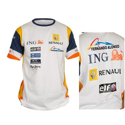 Car maniax and the future renault t shirt for Sponsor t shirt design
