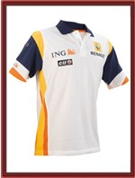 ING Renault F1 Team Sponsor Polo-Shirt