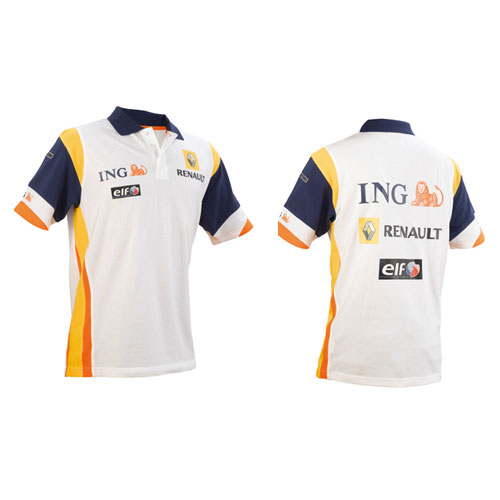 ING Renault F1 Team Sponsor Polo Shirt