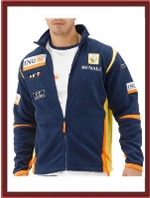 Renault F1 Team Sponsor Fleece Jacket