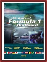 50 Years of Formula 1 On-Board DVD