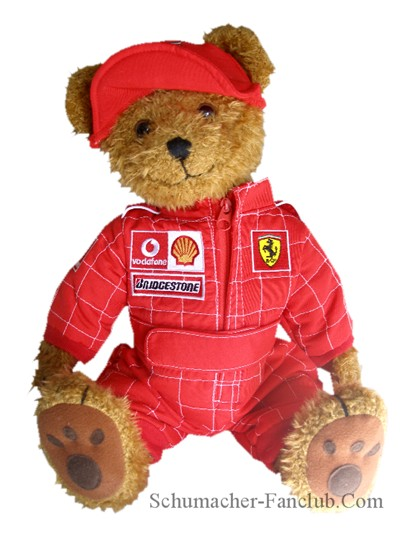 teddy bear pictures. FR3960-L Ferrari Teddy Bear