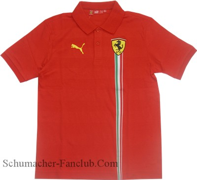 Puma Ferrari Polo Shirt - Red (FR7220)