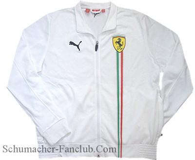 Puma Blanc Ferrari Veste De Piste GlwmHB4G