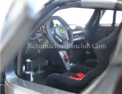 ferrari fxx interior. l7126 hot wheels super elite michael schumacher ferrari fxx interior view fxx