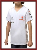 McLaren Mercedes F1 Kids T-Shirt