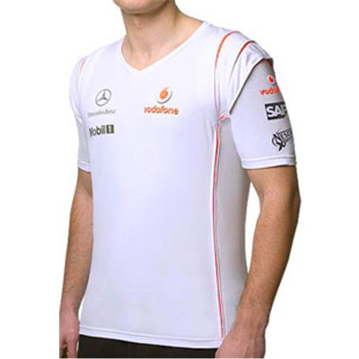 ML7111 McLaren Mercedes F1 Team T-Shirt - Detailed View