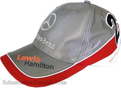 Lewis hamilton mercedes benz cap for Mercedes benz hats