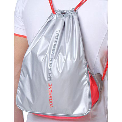 ML7911 McLaren Mercedes F1 Drawstring Bag - Detailed View