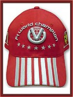 Michael Schumacher 2004 DVAG Hat