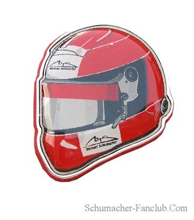 Michael  Schumacher hat//lapel badges