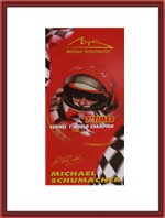 Michael Schumacher 7 Times Beach Towel