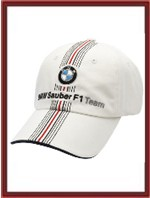 BMW Sauber F1 White Team Hat (SU8512)