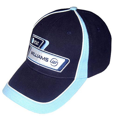 WW7511 Williams F1 Team Logo Hat - Detailed View
