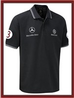 Mercedes GP Polo Shirt - Black