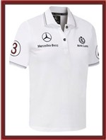 Mercedes GP Polo Shirt - White
