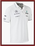 Mercedes GP Team Polo Shirt