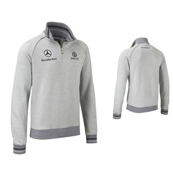 Mercedes gp half zip sweatshirt for Mercedes benz sweatsuit