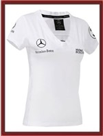 Michael Schumacher Mercedes Womens T-Shirt