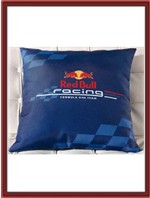 Red Bull Throw Pillow - Racing Logo