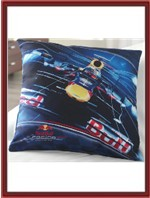 Red Bull Throw Pillow - F1 Car