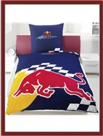 Red Bull Racing Duvet Cover Set - Red Bull Logo