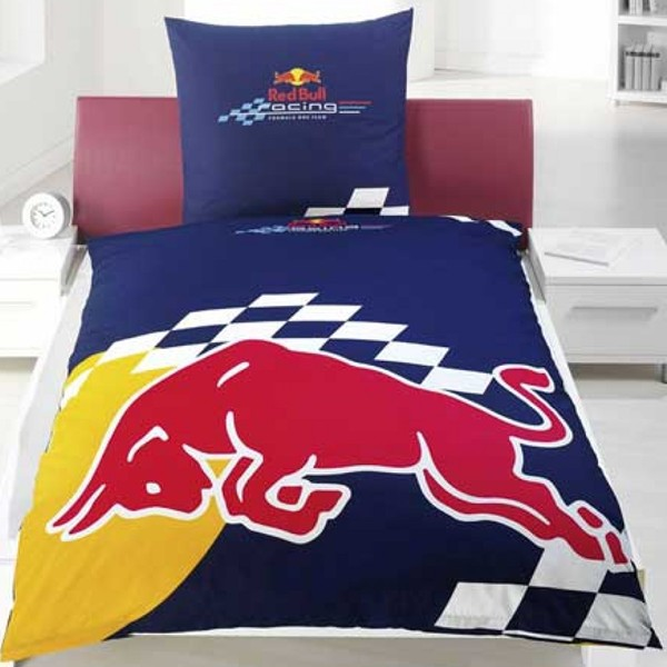 Red Bull Racing Duvet Cover Set - Detailed View